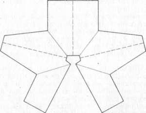Туника крючком описание вязания