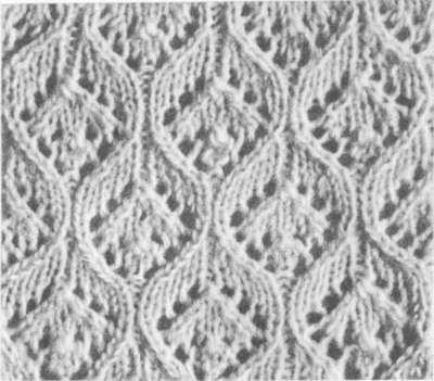 узор для вязания легких женских изделий