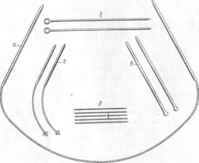 Инструмент для вязания