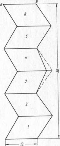 Миниатюра изображения для Рис. 229. Чертеж выкройки шапочки