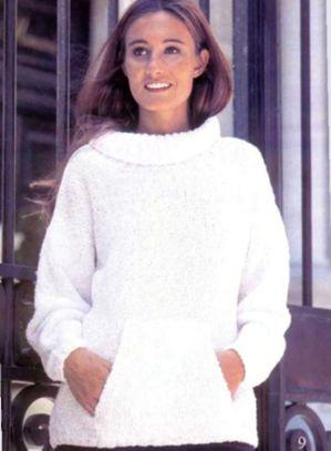 Пуловер словно пена