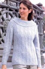Пуловер, городская мода