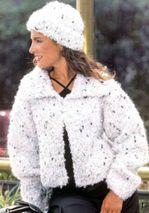 Кофта и шапочка, по молодежному модно