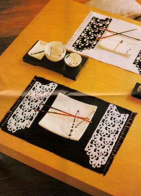 Салфетки: В японском стиле