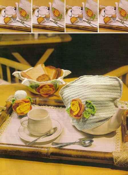 Грелка для чайника и салфетка