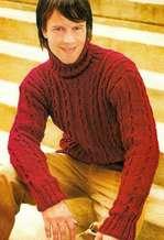 Мужской свитер: Обаяние тепла