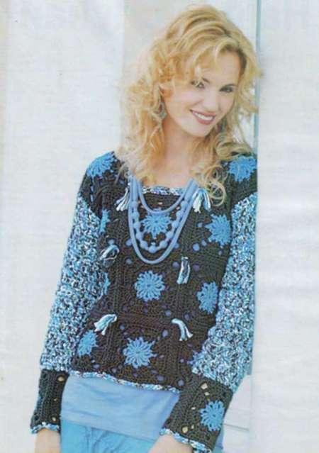 Пуловер: Звездная ночь