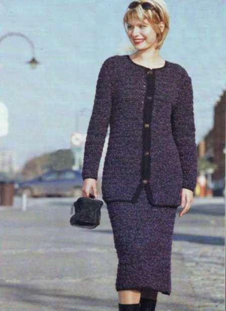 Комплект юбка и жакет: Парижанка