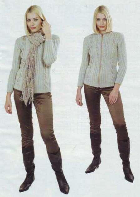 Жакет и шарфик: Ваш стиль