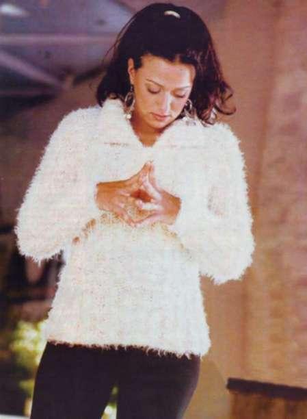 Пуловер: cила мягкости