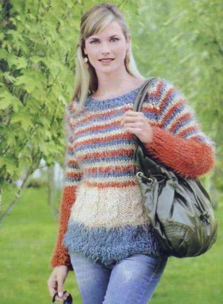 Пуловер: комфортно