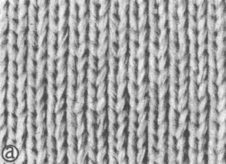 Лицевое вязание