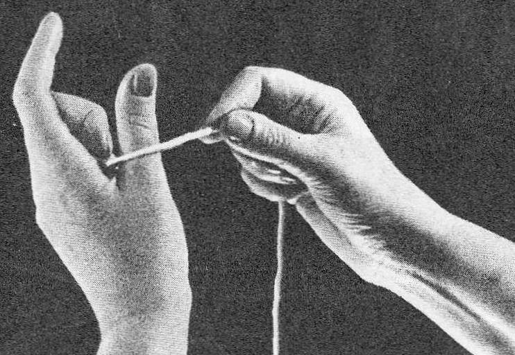 Вязание спицами для начинающих.