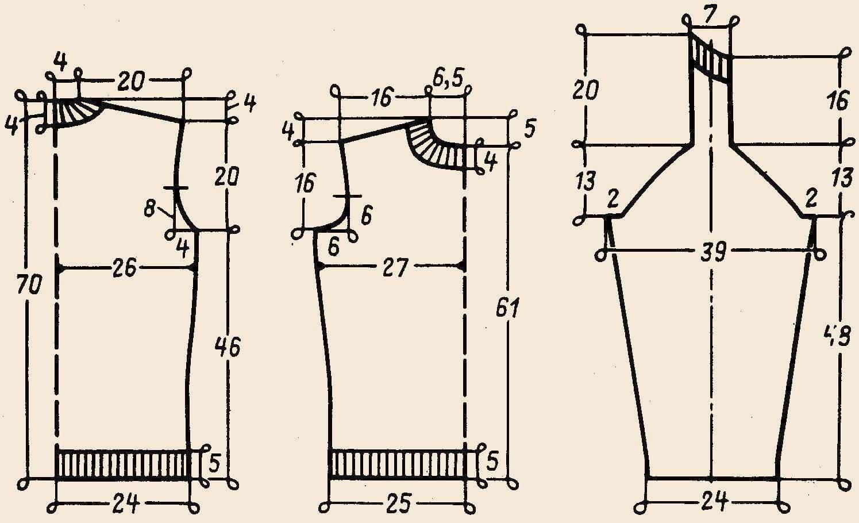 Как сделать выкройку свитера пошаговая инструкция