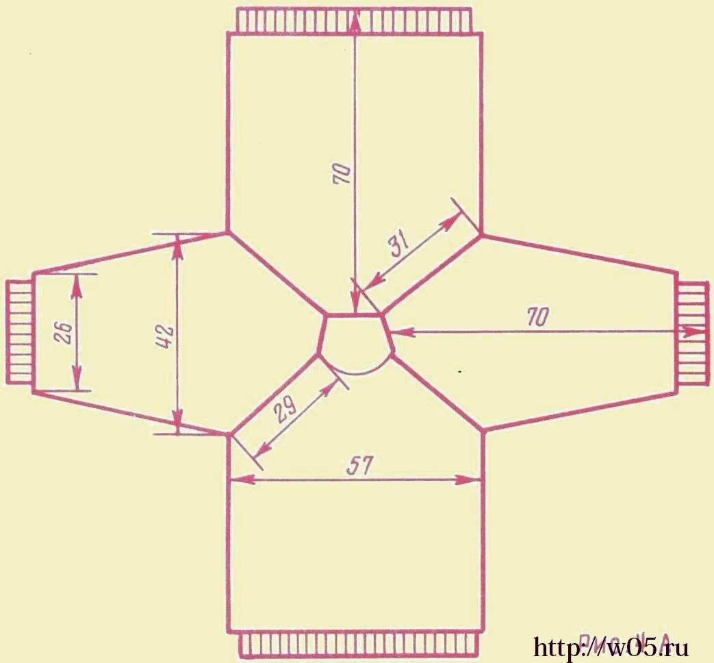 Детский свитер реглан вязание на спицах 19