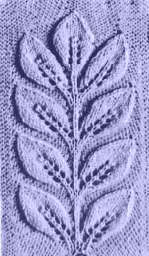Узор рельефной ветки