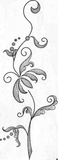 Рисунок ветки