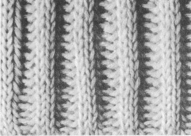 Узоры плотного вязания: узор для шапок и шарфов.