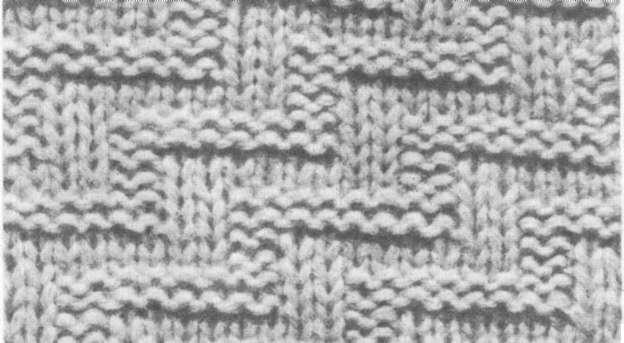 Виды вязок спицами Узоры для начинающих Схемы с полным