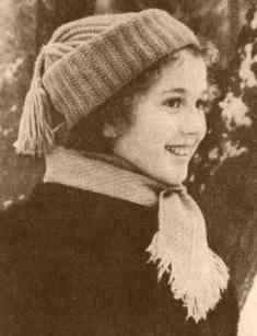 Детские шапочка и шарфик