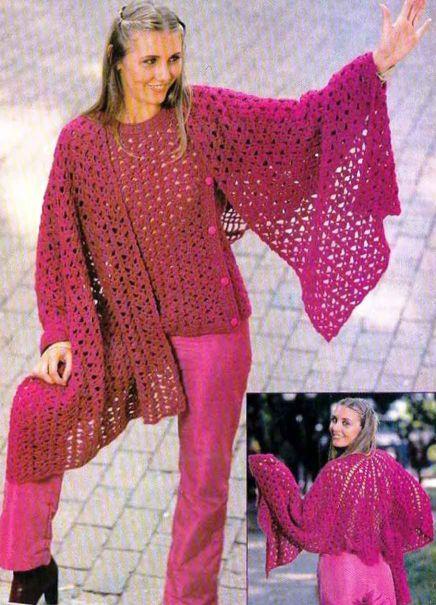 Гусарская баллада: пуловер, шаль