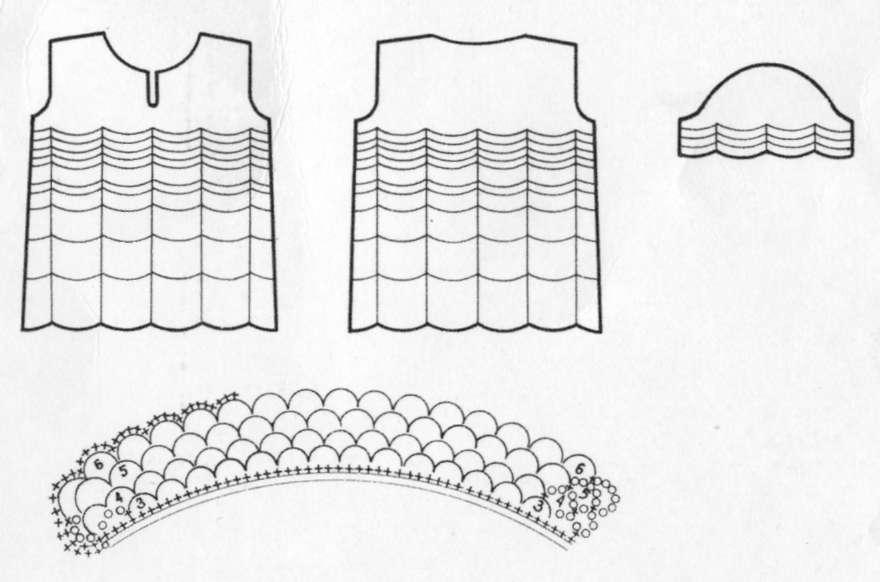 длинное вязаное платье от бенеттон