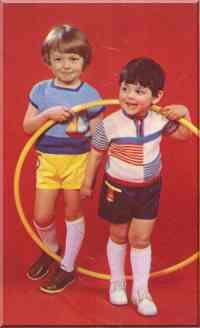 Детские рубашки из ириса