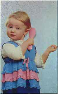 Детский сарафан из шерсти